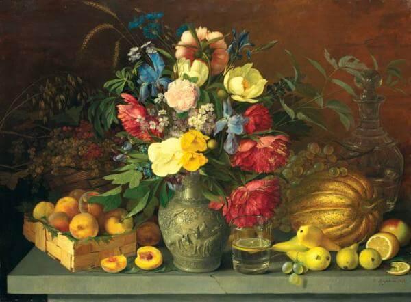 Khrutskaya's Flowers, Fruit and Fly at the Tretyakov Gallery