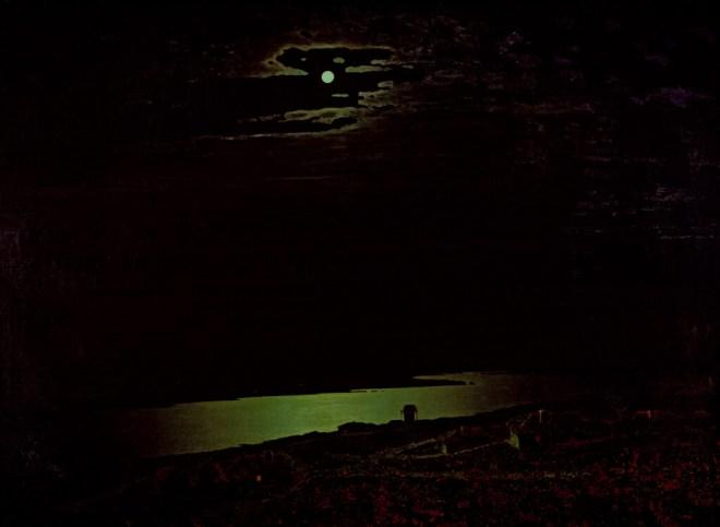 Kuindzhi's Night on the Dneiper at the Tretyakov Gallery