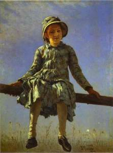 Repin's Dragonfly at the Tretyakov Gallery