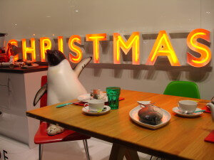John Lewis and yet more penguin action at Christmas
