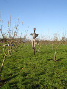 A scarecrow at Chruch Farm Ardeley
