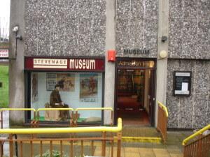 Stevenage Museum entrance