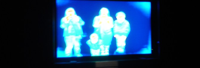 Thermal imaging at World of Illusions