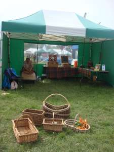 Basketweaving at Morden Hall Park Country Show
