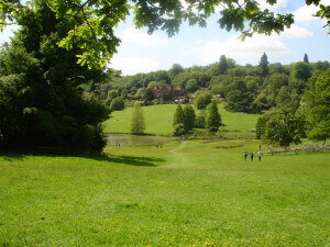 Chartwell from the swings