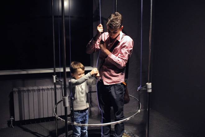Bubble machine at the Experimentanium Museum