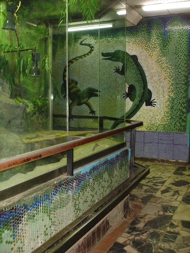 Reptile House at Moscow Zoo