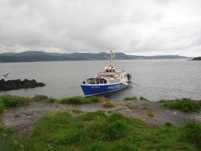 Boat Trip to Inchcolm Island