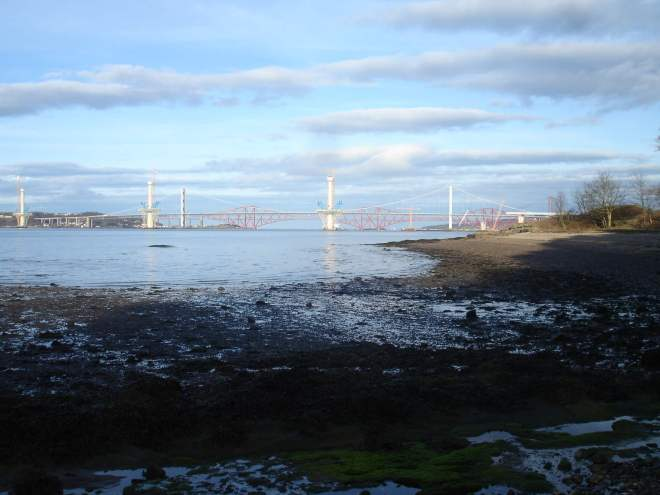 Forth Bridge and Forth Road Bridge