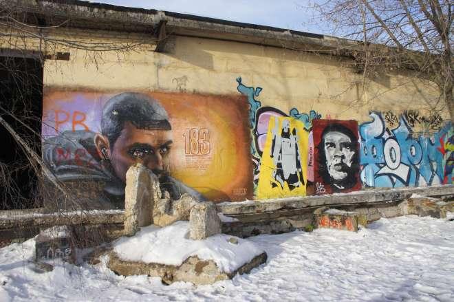 Street art Belokamennaya