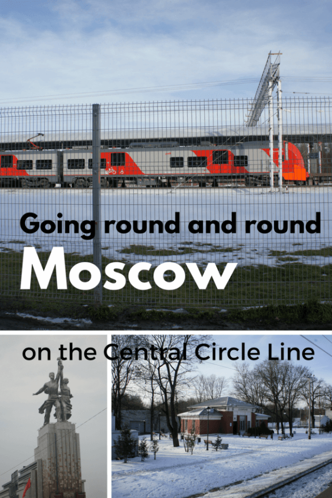 Going round and rournd Moscow on the Central Circle Line