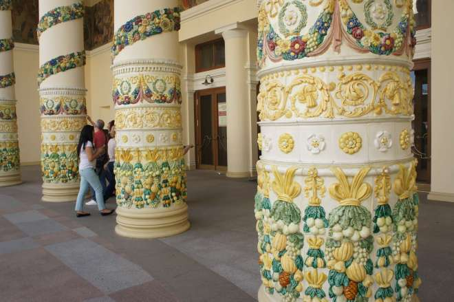Belarus pavilion vdnh vdnkh Moscow