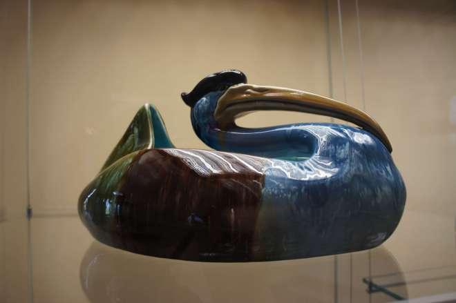 Ceramic Bird Tsaritsyno Moscow