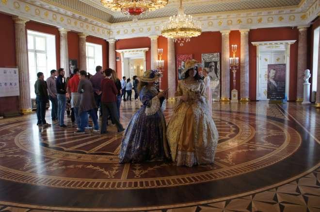 Costumes Tsaritsyno Moscow