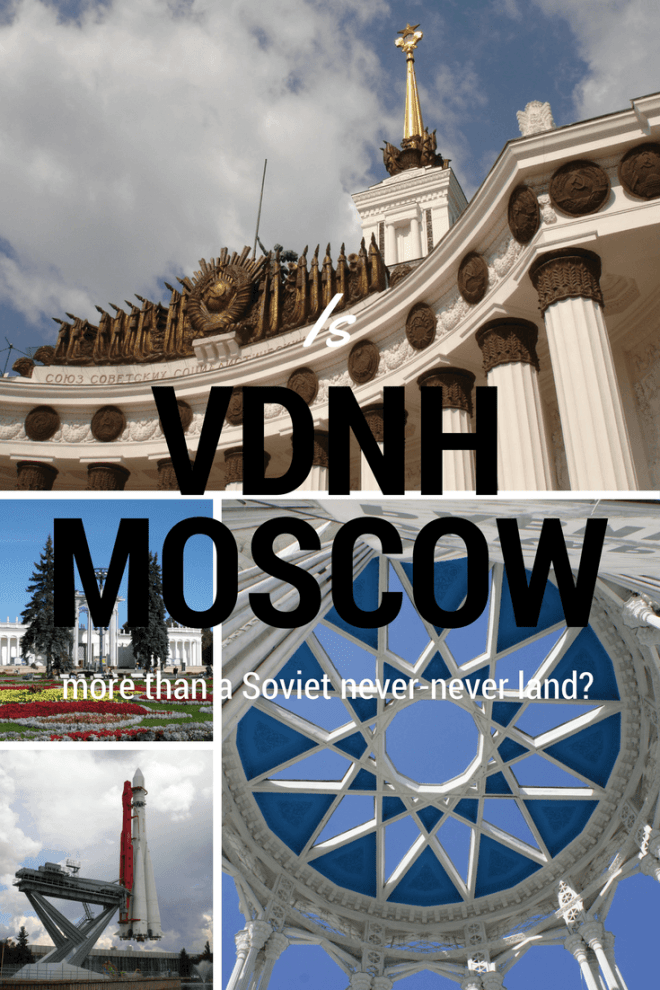 VDNH in Moscow is a Soviet exhibtition space full of architectural masterpieces