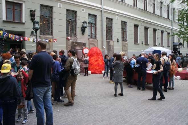 Bulgakov Museum Moscow Courtyard