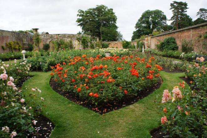 Hever Castle Rose Gardens Kent