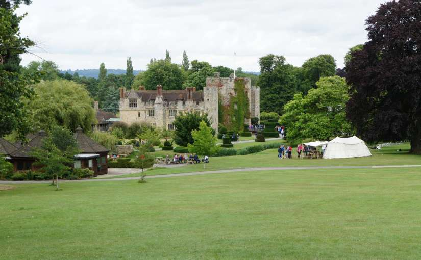 Hever Castle and Gardens: knights, jousting, action