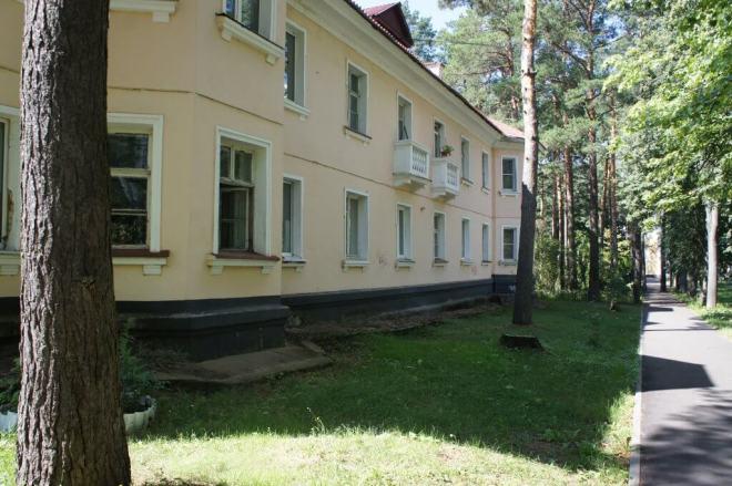 Apartment block Dubna Russia