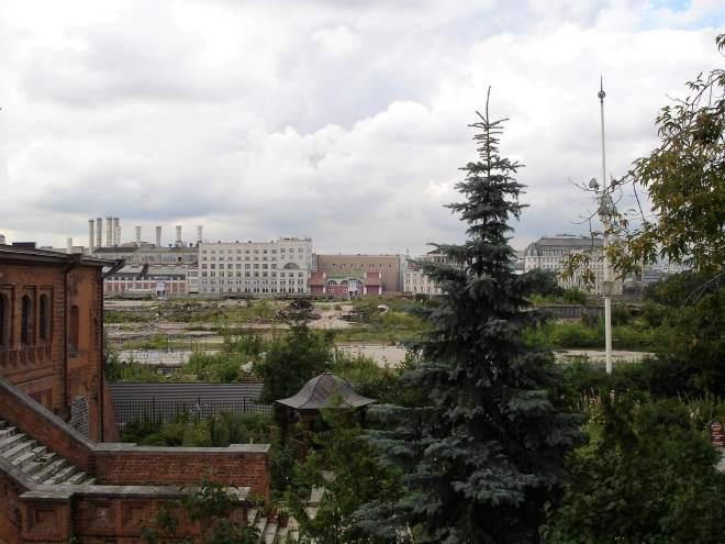 Rossiya Hotel Knocked Down Zaryadye Park Moscow