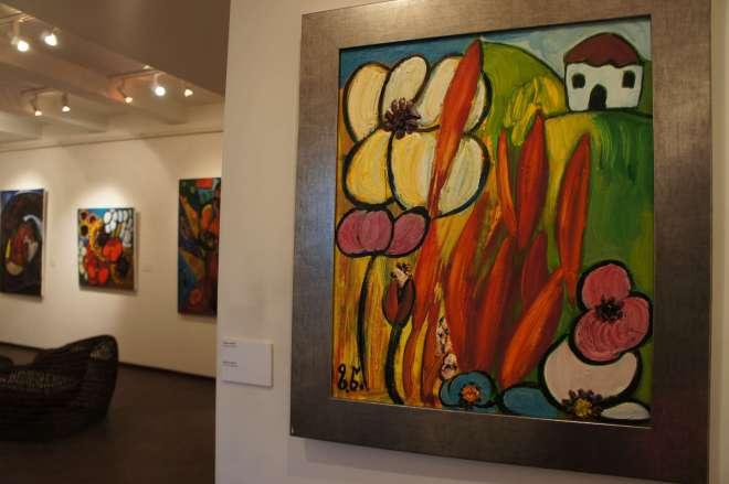Painting at Zurab Tsereteli Studio Museum Moscow