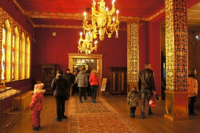 Room at Palace of Tsar Alexey Mikhailovich Kolomenskoye Moscow