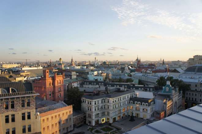 Rooftop View of Moscow