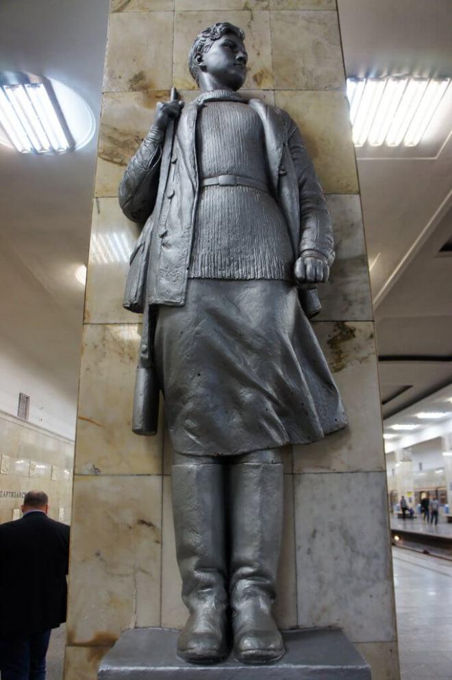 Partisanskaya Moscow Metro