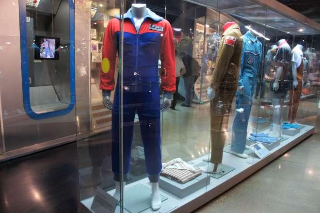 Cosmonauts uniforms Cosmonautics Museum Moscow