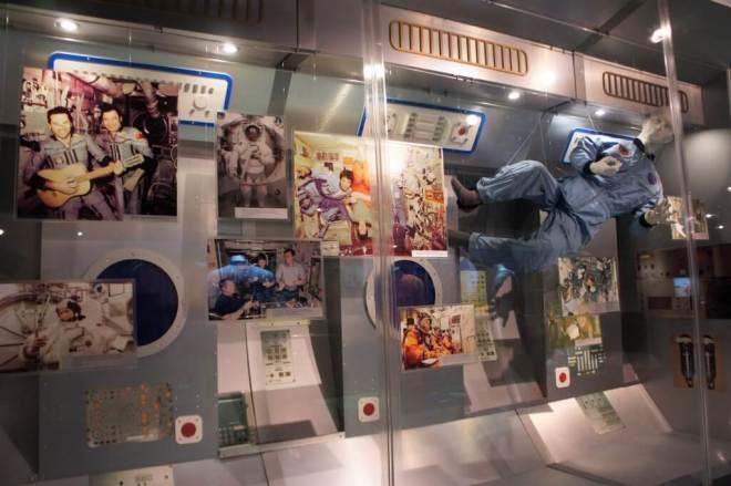 Life on MIR Cosmonautics Museum Moscow