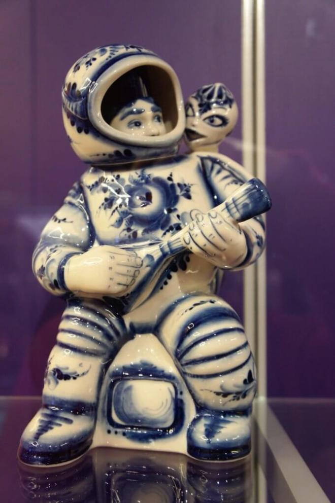 Space flight souvenir Cosmonautics Museum Moscow