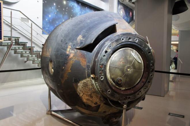 Reentry Cosmonautics Museum Moscow