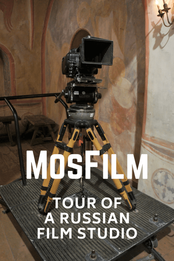 MosFilm Studio Tour