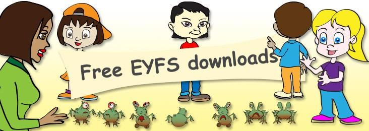 Free EYFS downloads