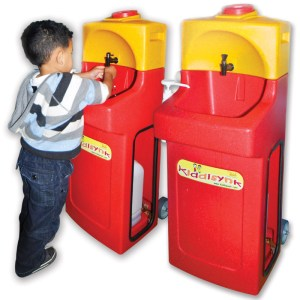 KiddiSynk mobile sinks for children