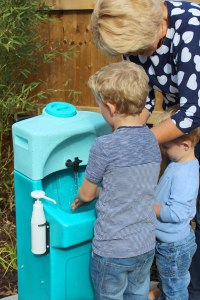 Nursery World Show will feature portable sinks for children