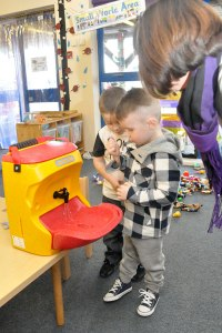 Childcare Expo will feature mobile sinks for children