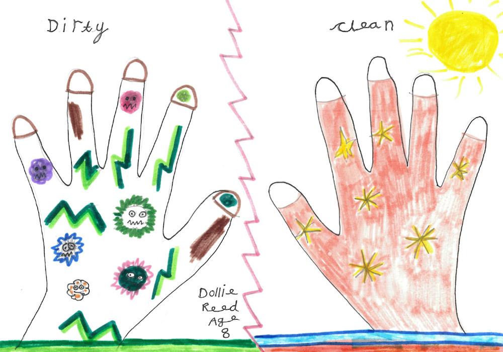 Wonderful entries for Kiddiwash hand washing competitions!