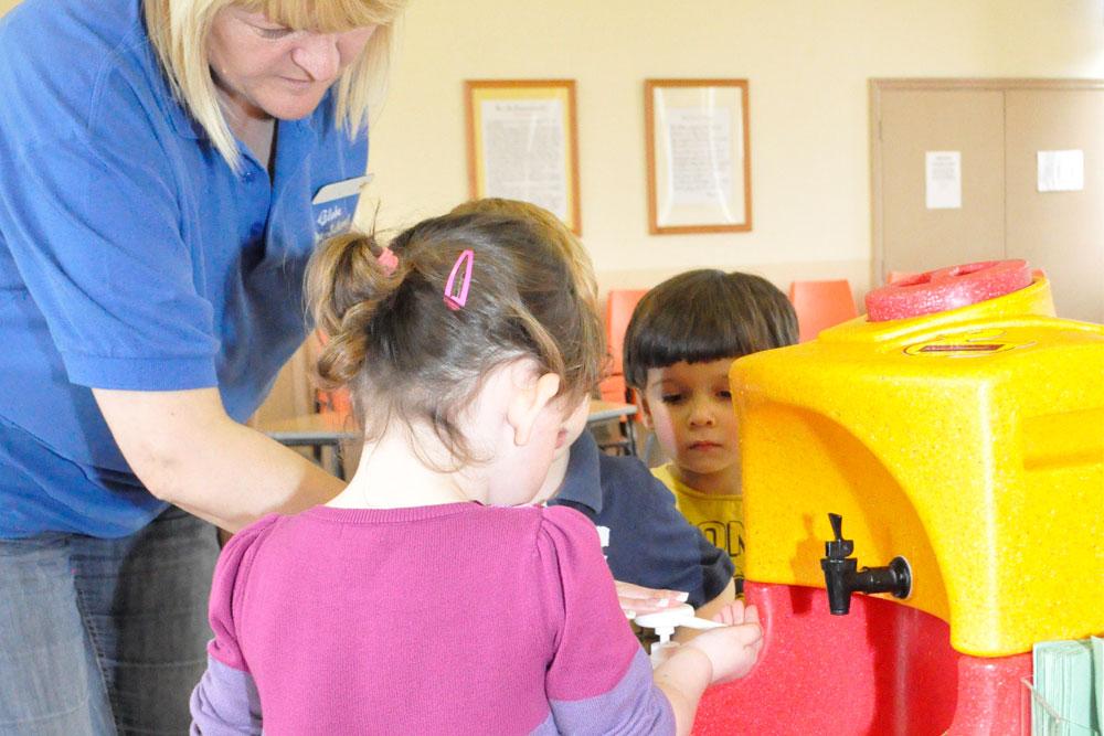 Get children involved with Global Handwashing Day