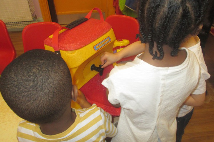 Kiddiwash Xtra for teaching handwashing to young children