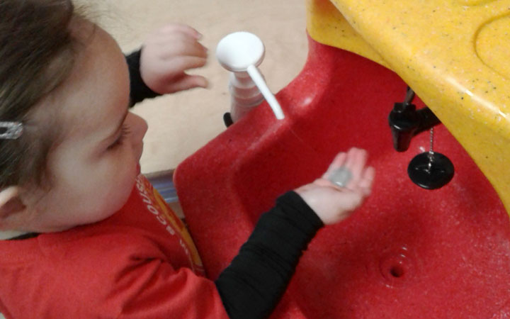Honey Pot Nurseries recognise the importance of teaching hand washing
