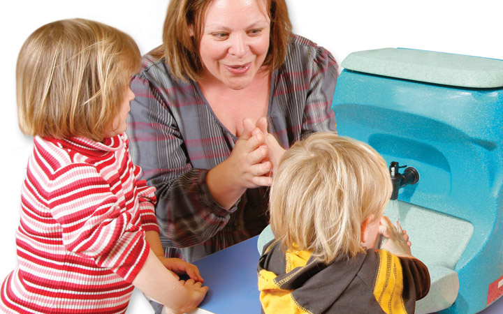 Why you should teach handwashing with soap and water (ahead of gels) to children
