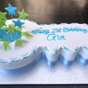 21st Birthday Cakes Kidd S Cakes Bakery