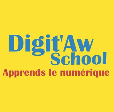 logo digitaw school école numérique enfants