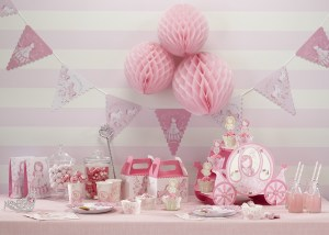 Partydreams Kiddyspace Pink Princess Theme Image
