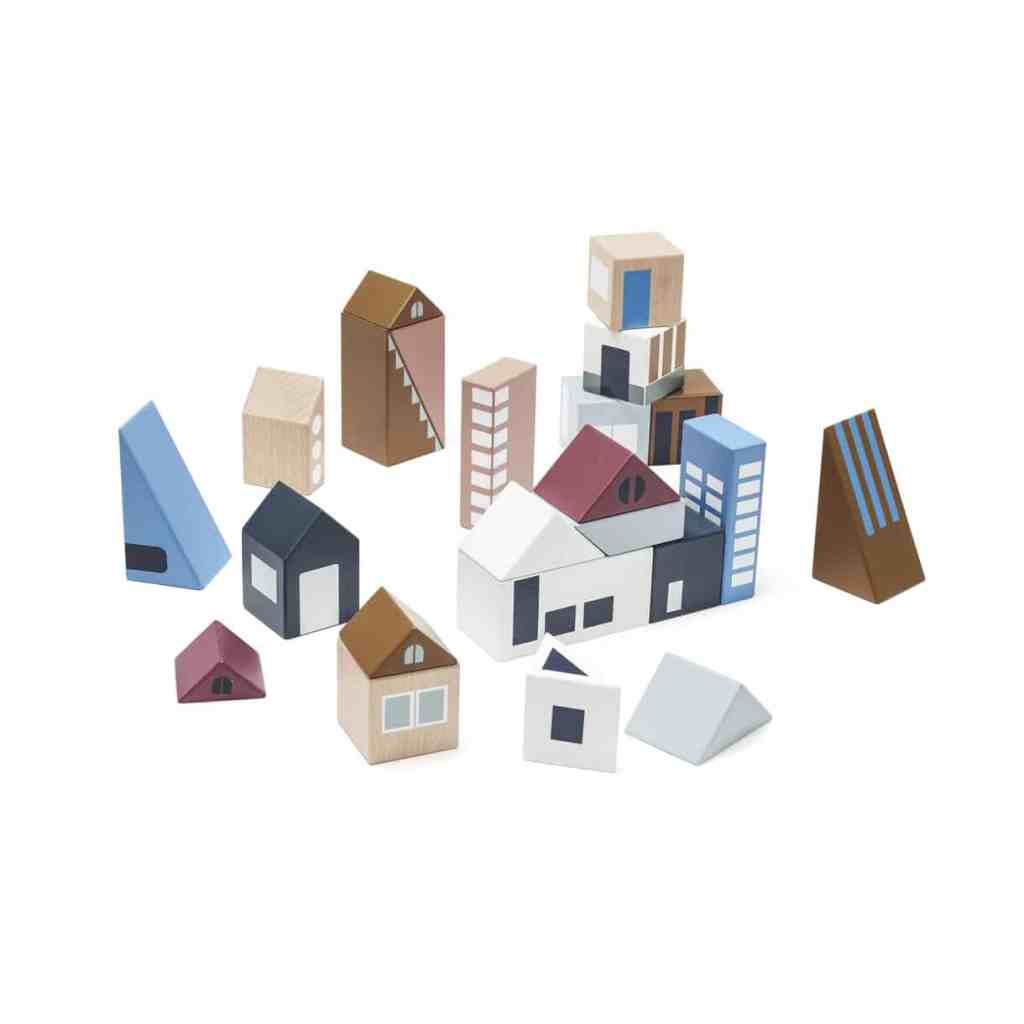 Kids Concept City Wooden Blocks