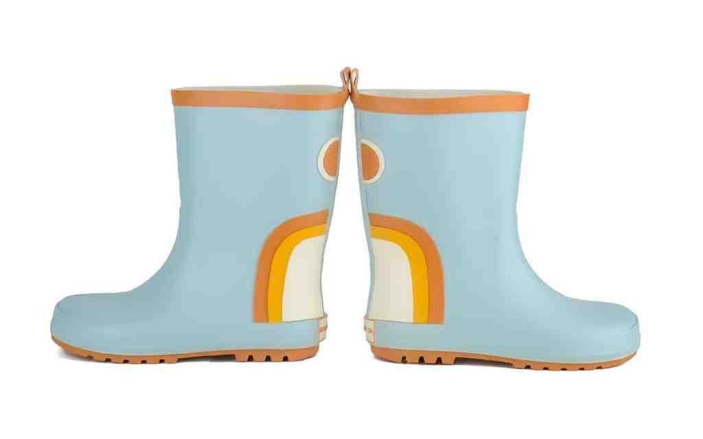 Grech & Go Regenlaarsjes Rainbow Lichtblauw