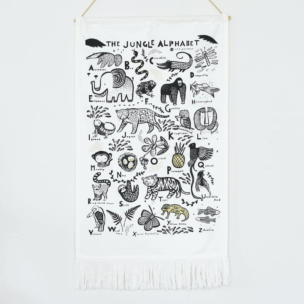 Wee Gallery Jungle Wall Hanging