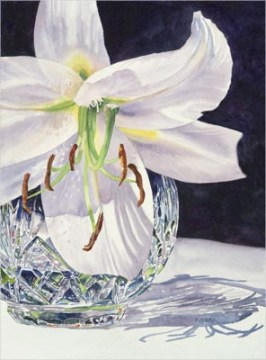 White Lily & Crystal