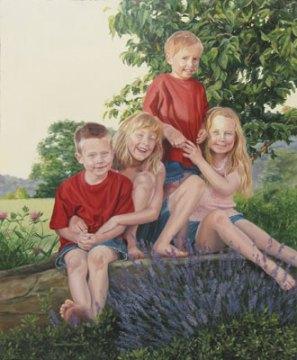 Bishop Children (Commission)